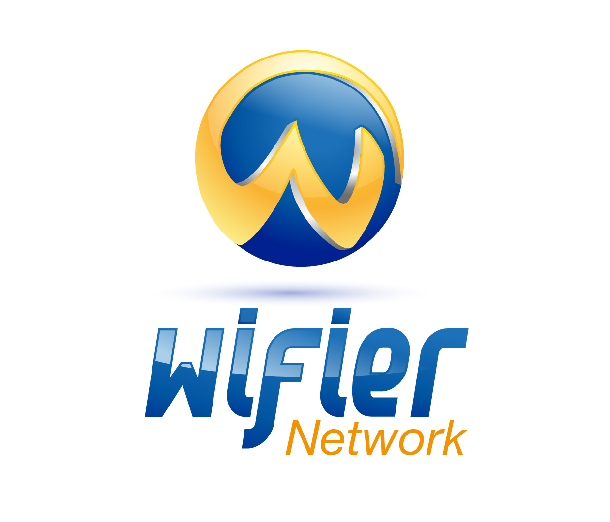 Logo Design by jeeband - Entry No. 42 in the Logo Design Contest New Logo Design for Wifier Network.