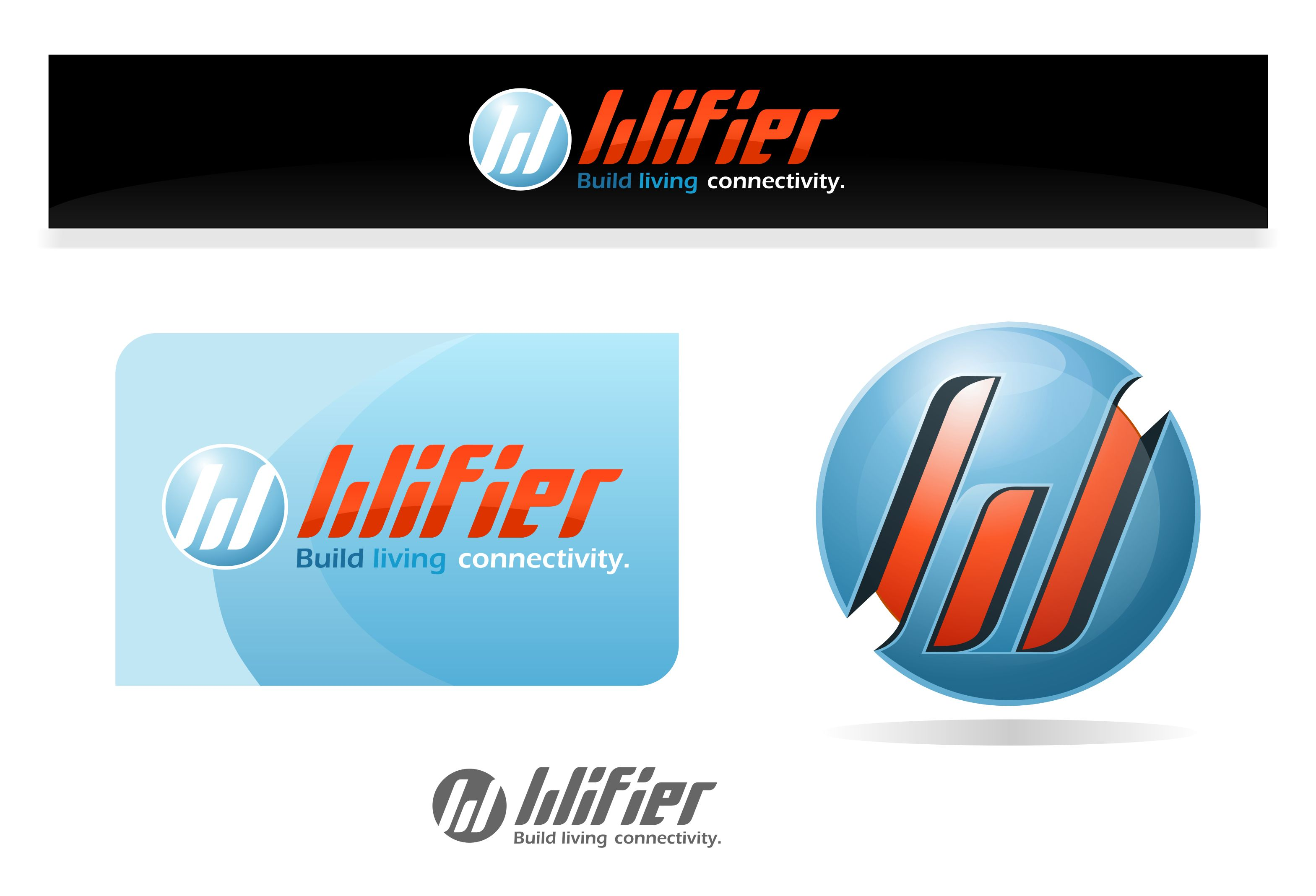 Logo Design by joca - Entry No. 45 in the Logo Design Contest New Logo Design for Wifier Network.