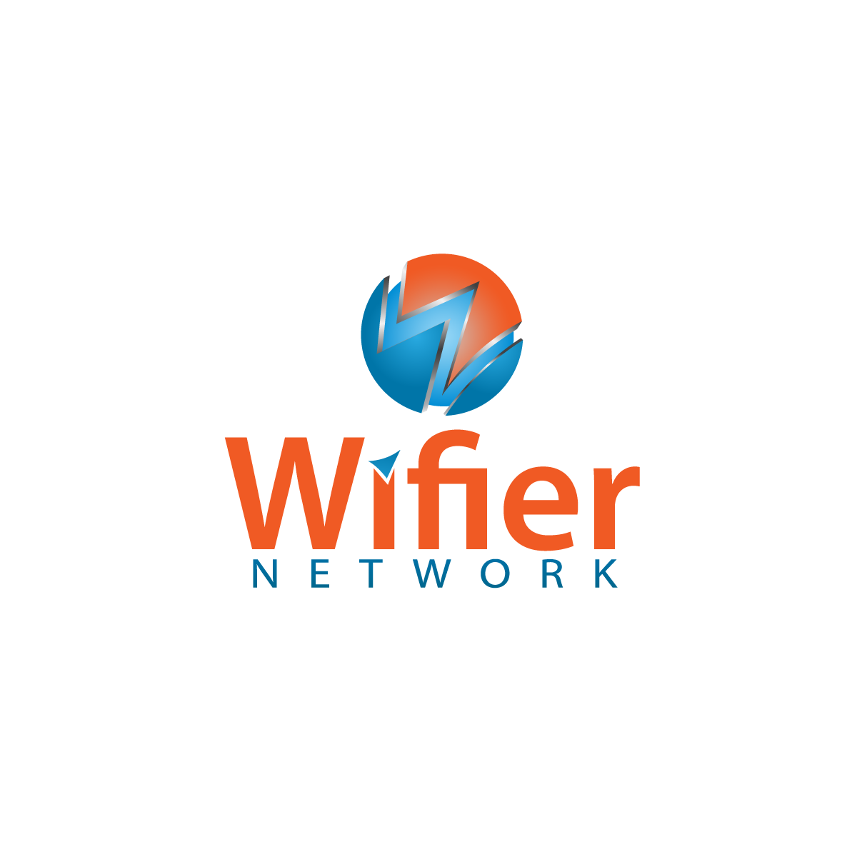 Logo Design by rockin - Entry No. 48 in the Logo Design Contest New Logo Design for Wifier Network.