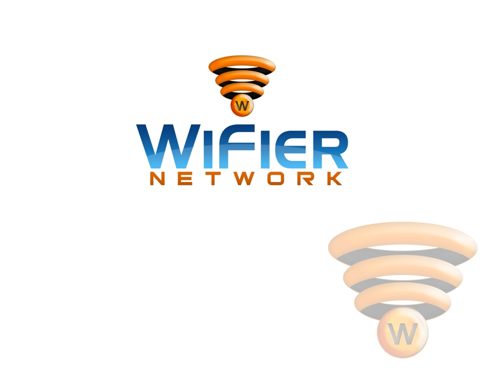 Logo Design by Juan_Kata - Entry No. 50 in the Logo Design Contest New Logo Design for Wifier Network.