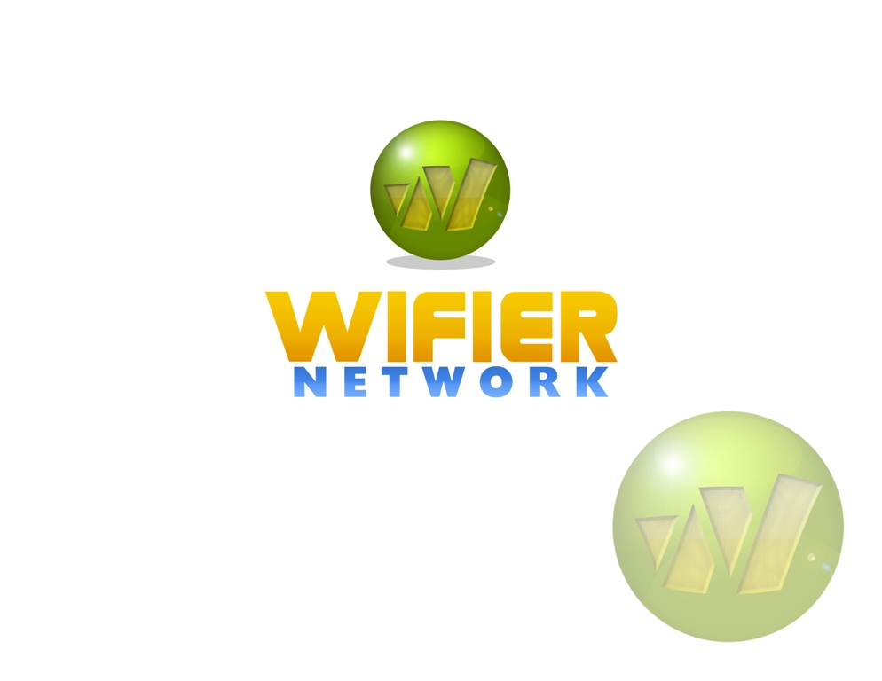 Logo Design by Juan_Kata - Entry No. 52 in the Logo Design Contest New Logo Design for Wifier Network.