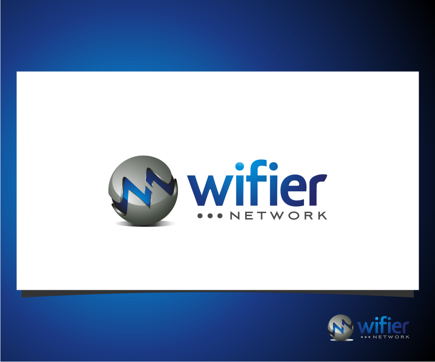 Logo Design by Muhammad Nasrul chasib - Entry No. 54 in the Logo Design Contest New Logo Design for Wifier Network.