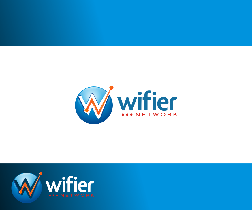 Logo Design by graphicleaf - Entry No. 59 in the Logo Design Contest New Logo Design for Wifier Network.