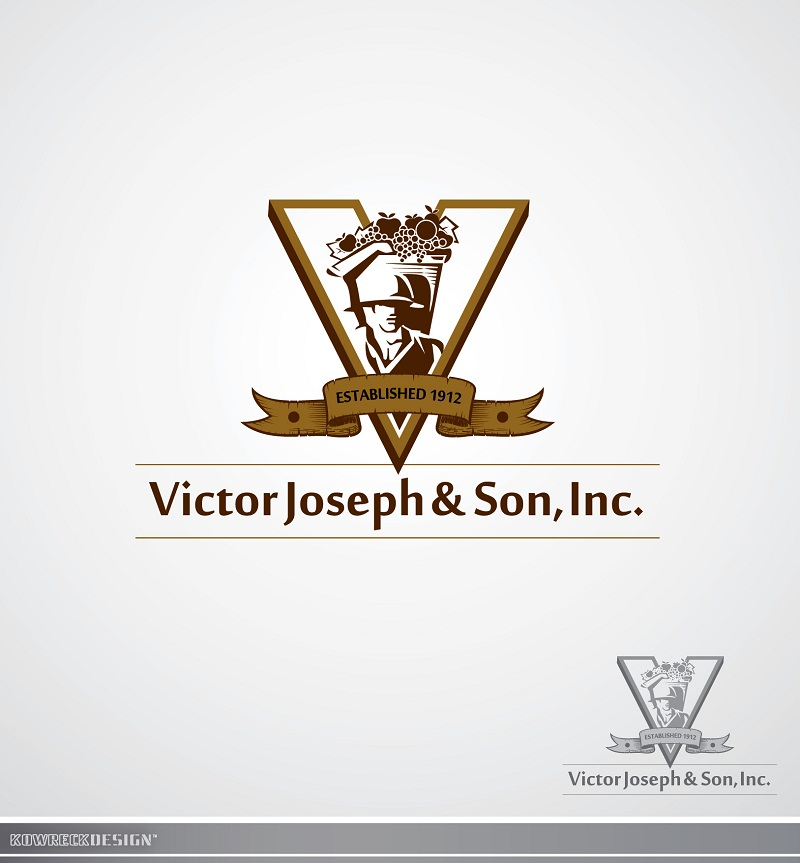 Logo Design by kowreck - Entry No. 2 in the Logo Design Contest Imaginative Logo Design for Victor Joseph & Son, Inc..
