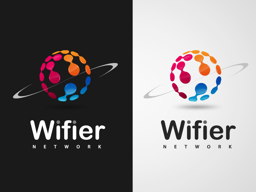Logo Design by jpbituin - Entry No. 61 in the Logo Design Contest New Logo Design for Wifier Network.