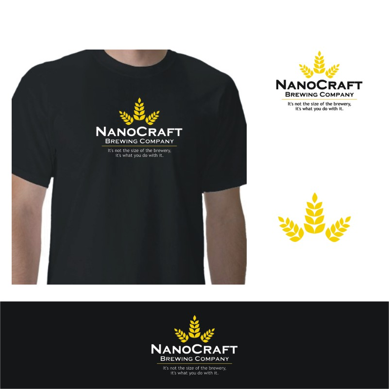 Logo Design by Private User - Entry No. 73 in the Logo Design Contest Unique Logo Design Wanted for NanoCraft Brewing Company.