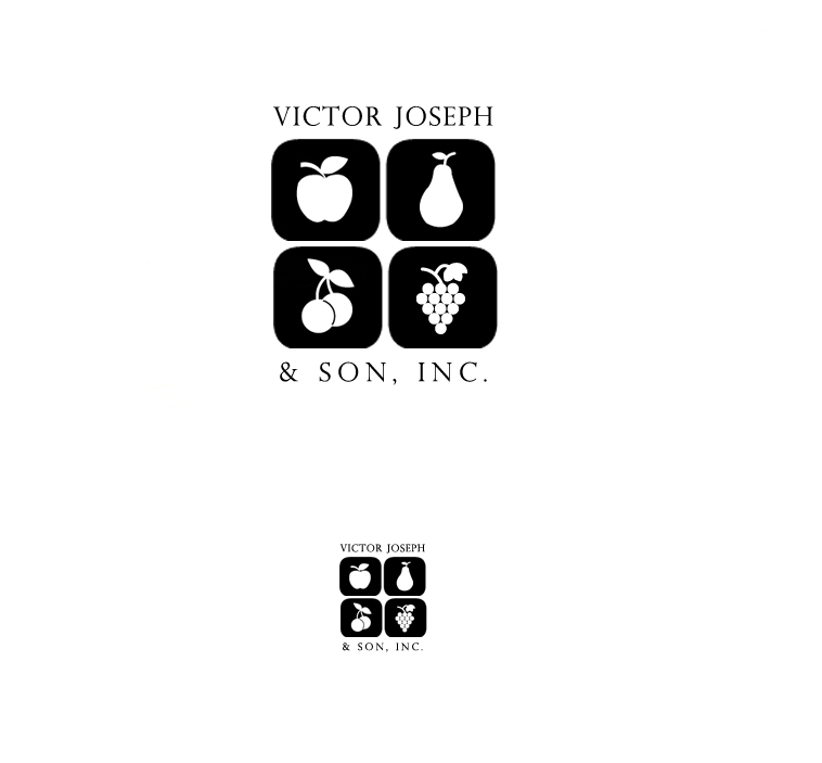 Logo Design by elmd - Entry No. 7 in the Logo Design Contest Imaginative Logo Design for Victor Joseph & Son, Inc..