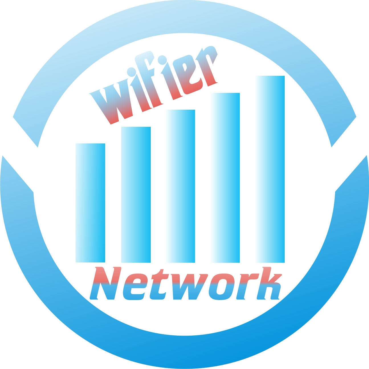 Logo Design by Private User - Entry No. 65 in the Logo Design Contest New Logo Design for Wifier Network.