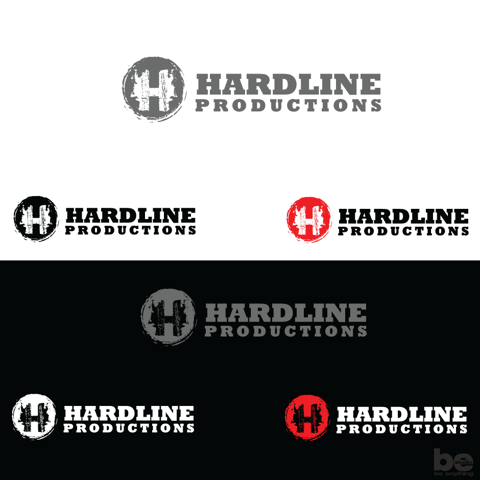 Logo Design by baboons - Entry No. 162 in the Logo Design Contest Hardline Productions.