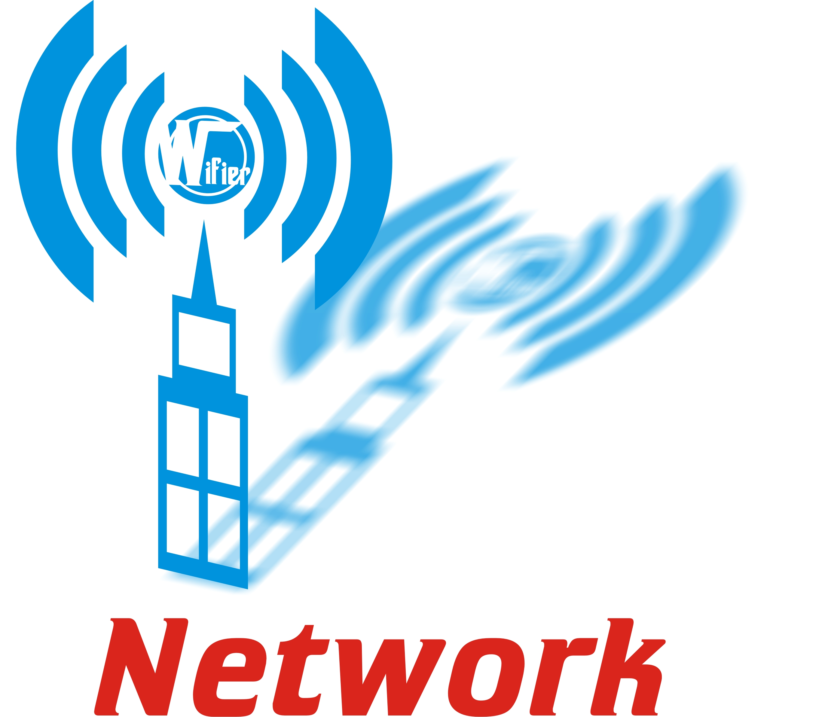 Logo Design by Private User - Entry No. 70 in the Logo Design Contest New Logo Design for Wifier Network.