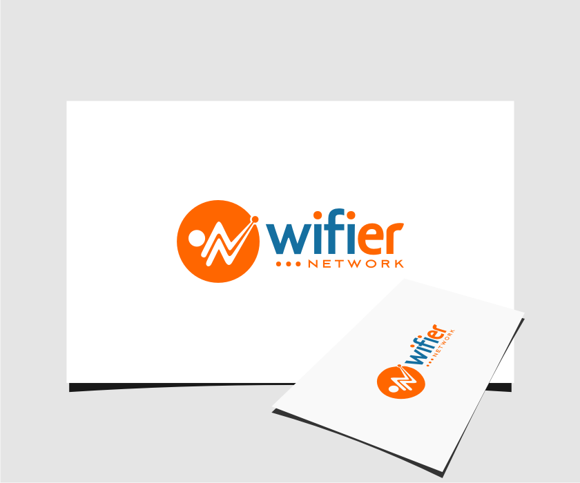 Logo Design by graphicleaf - Entry No. 71 in the Logo Design Contest New Logo Design for Wifier Network.