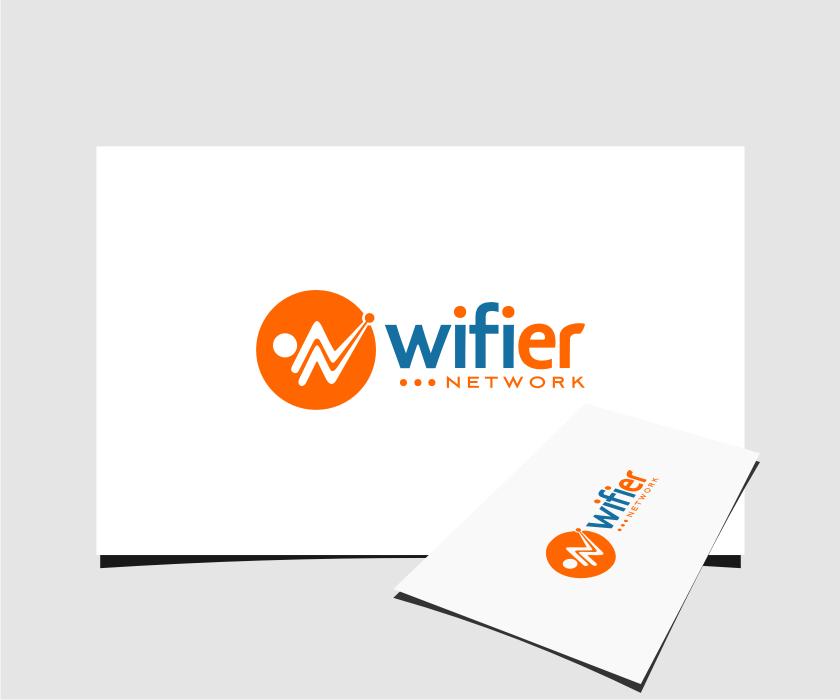 Logo Design by Muhammad Nasrul chasib - Entry No. 71 in the Logo Design Contest New Logo Design for Wifier Network.