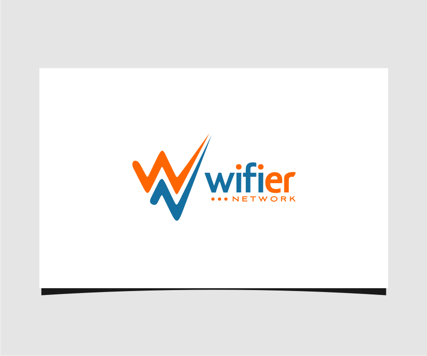 Logo Design by graphicleaf - Entry No. 72 in the Logo Design Contest New Logo Design for Wifier Network.