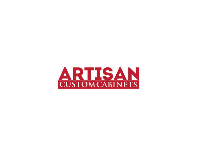Logo Design by Mahir Hamzic - Entry No. 10 in the Logo Design Contest Creative Logo Design for Artisan Custom Cabinets.