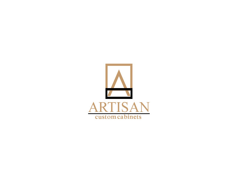Logo Design by Mahir Hamzic - Entry No. 14 in the Logo Design Contest Creative Logo Design for Artisan Custom Cabinets.