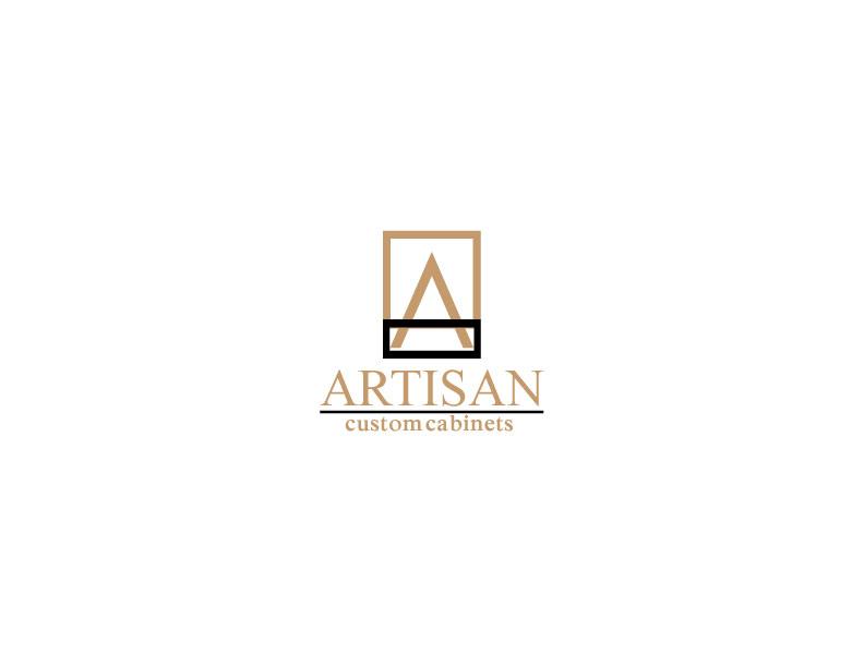 Logo Design by Mahir Hamzic - Entry No. 14 in the Logo Design Contest Creative Logo Design for Artisan Custom Cabinets.