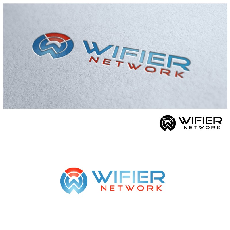 Logo Design by untung - Entry No. 75 in the Logo Design Contest New Logo Design for Wifier Network.