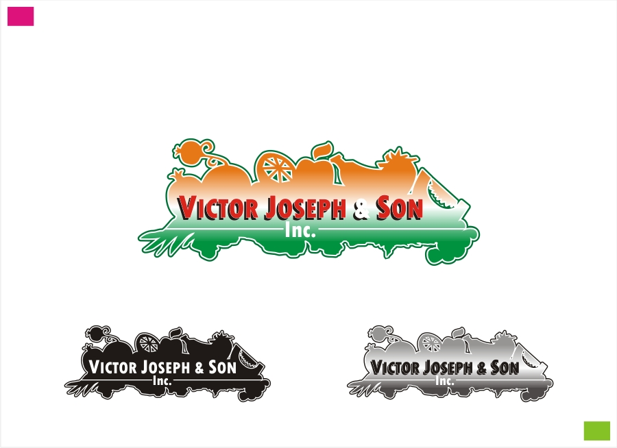 Logo Design by Private User - Entry No. 16 in the Logo Design Contest Imaginative Logo Design for Victor Joseph & Son, Inc..