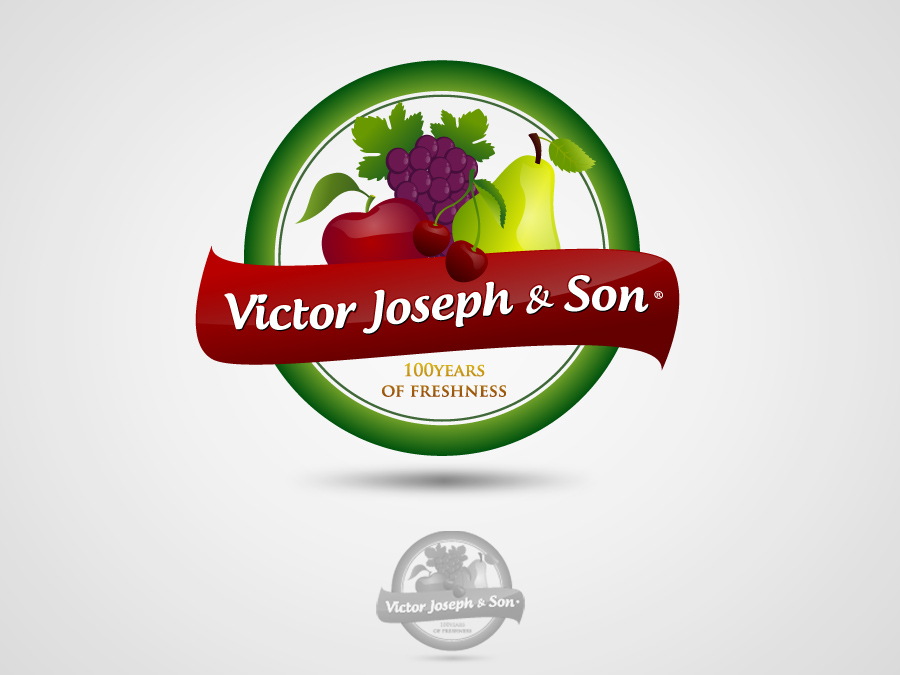 Logo Design by jpbituin - Entry No. 17 in the Logo Design Contest Imaginative Logo Design for Victor Joseph & Son, Inc..