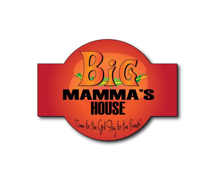 Logo Design by Diana Roder - Entry No. 7 in the Logo Design Contest Captivating Logo Design for Big Mamma's House.