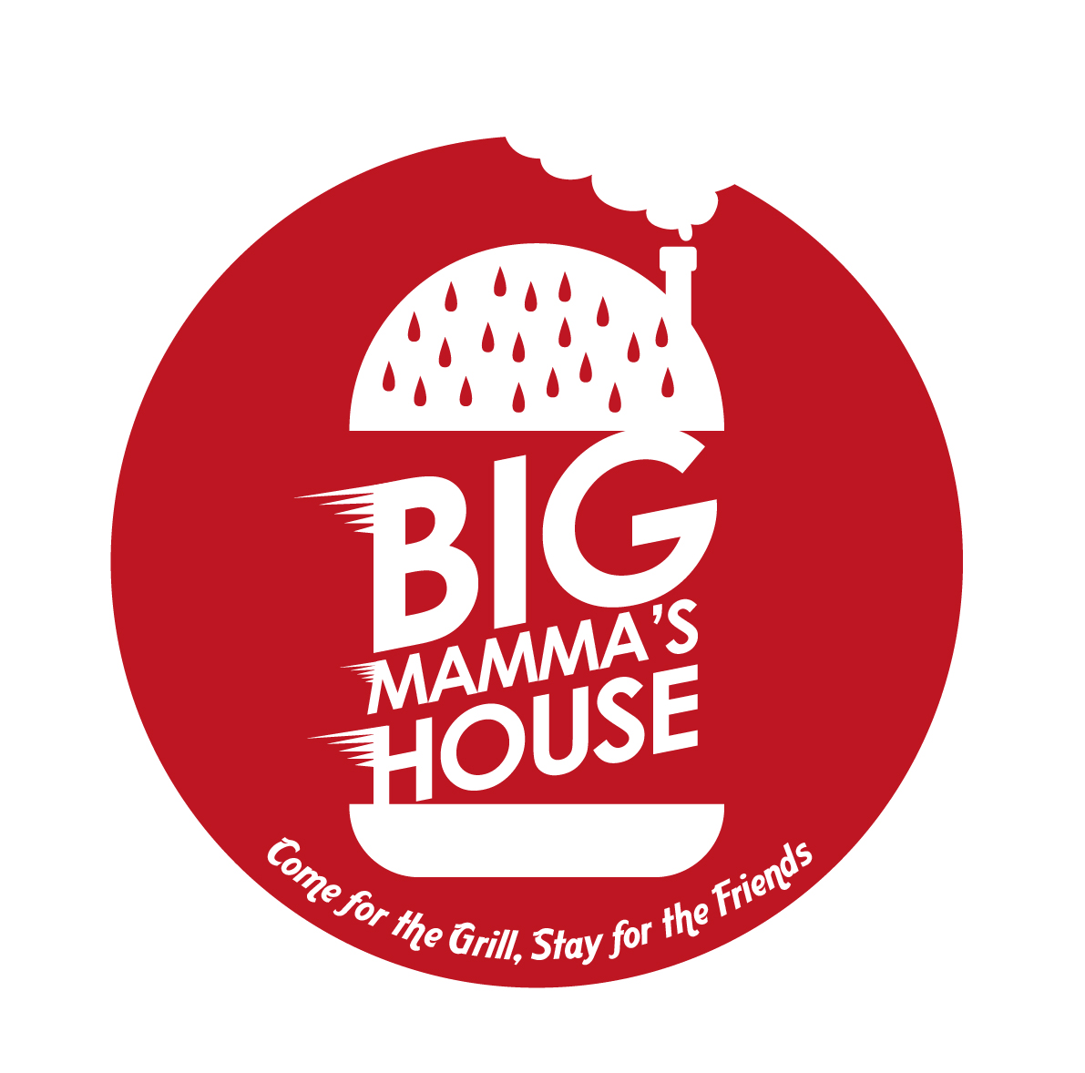 Logo Design by Ndaru Ap - Entry No. 9 in the Logo Design Contest Captivating Logo Design for Big Mamma's House.