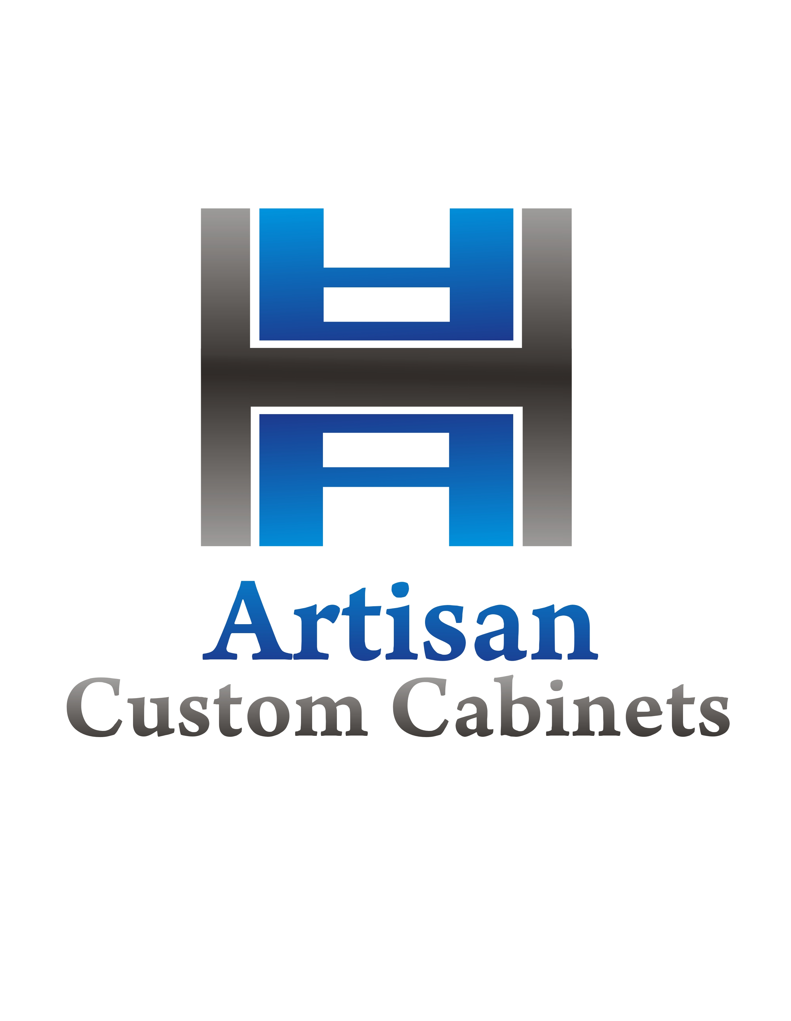 Logo Design by Private User - Entry No. 24 in the Logo Design Contest Creative Logo Design for Artisan Custom Cabinets.