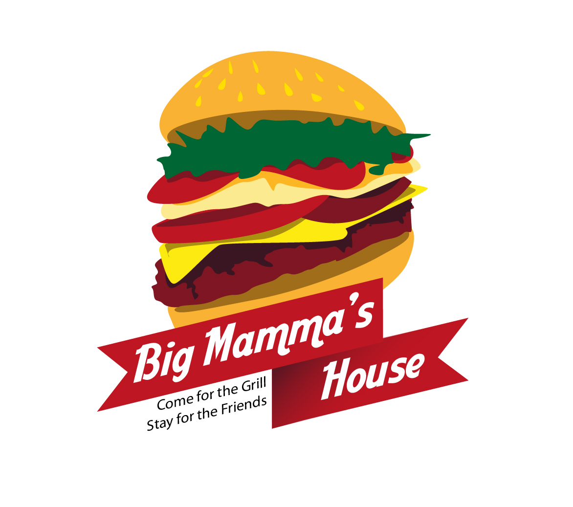 Logo Design by Ndaru Ap - Entry No. 10 in the Logo Design Contest Captivating Logo Design for Big Mamma's House.