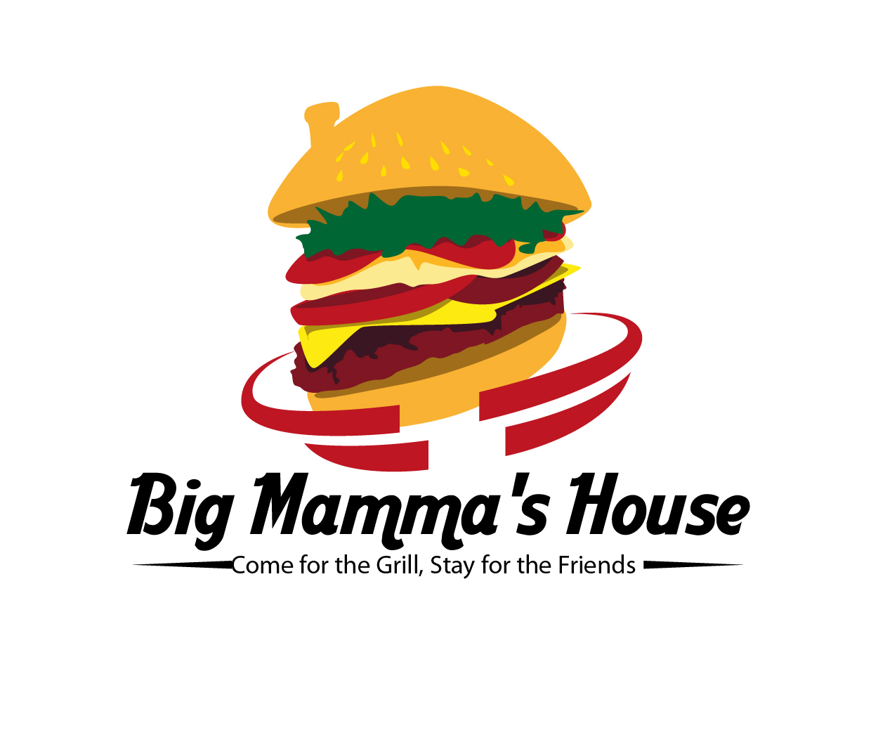 Logo Design by Ndaru Ap - Entry No. 12 in the Logo Design Contest Captivating Logo Design for Big Mamma's House.