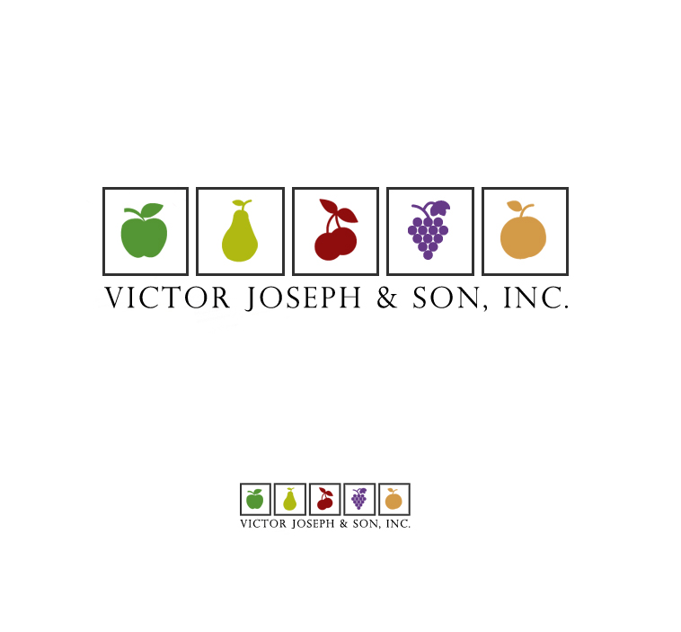 Logo Design by elmd - Entry No. 24 in the Logo Design Contest Imaginative Logo Design for Victor Joseph & Son, Inc..