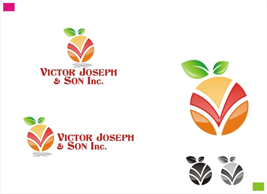 Logo Design by Private User - Entry No. 30 in the Logo Design Contest Imaginative Logo Design for Victor Joseph & Son, Inc..