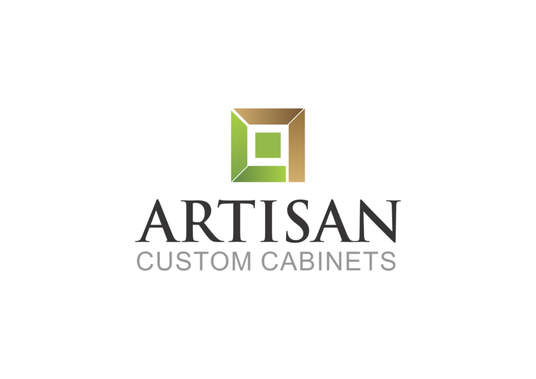 Logo Design by Private User - Entry No. 46 in the Logo Design Contest Creative Logo Design for Artisan Custom Cabinets.