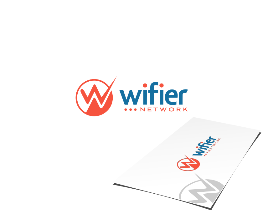 Logo Design by graphicleaf - Entry No. 84 in the Logo Design Contest New Logo Design for Wifier Network.