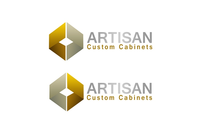 Logo Design by Respati Himawan - Entry No. 49 in the Logo Design Contest Creative Logo Design for Artisan Custom Cabinets.