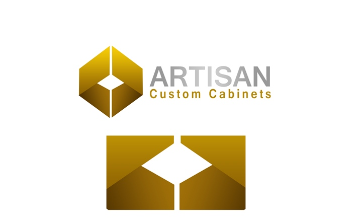 Logo Design by Respati Himawan - Entry No. 50 in the Logo Design Contest Creative Logo Design for Artisan Custom Cabinets.