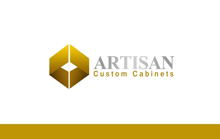Logo Design by Respati Himawan - Entry No. 54 in the Logo Design Contest Creative Logo Design for Artisan Custom Cabinets.