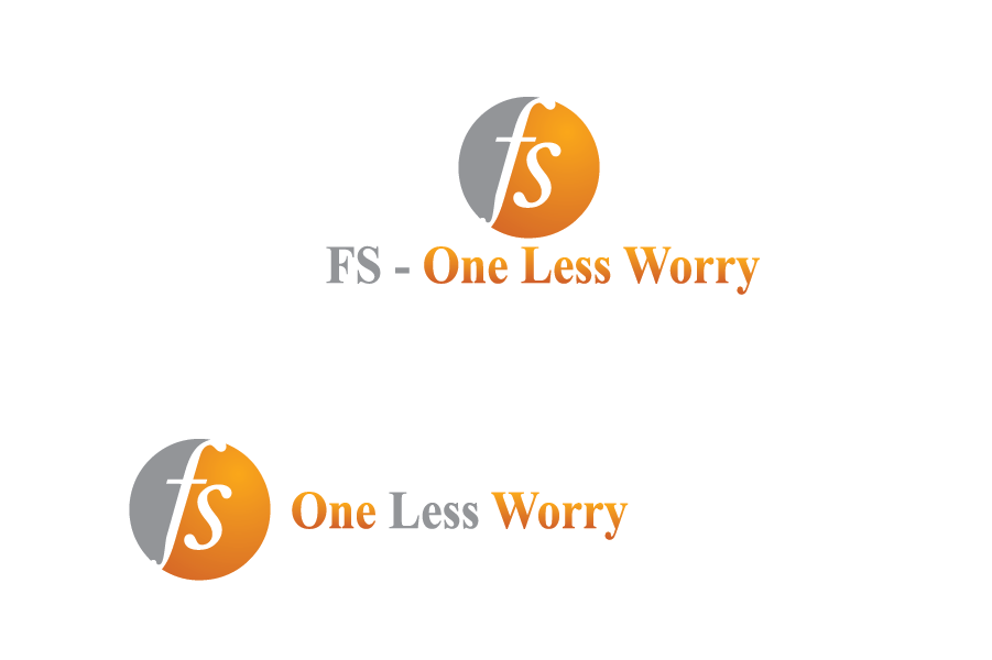 Logo Design by Muhammad Moinjaved - Entry No. 1 in the Logo Design Contest Creative Logo Design for FS - One Less Worry.