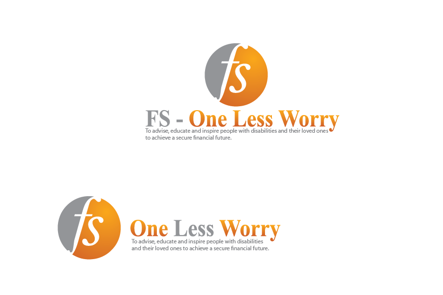 Logo Design by Muhammad Moinjaved - Entry No. 2 in the Logo Design Contest Creative Logo Design for FS - One Less Worry.