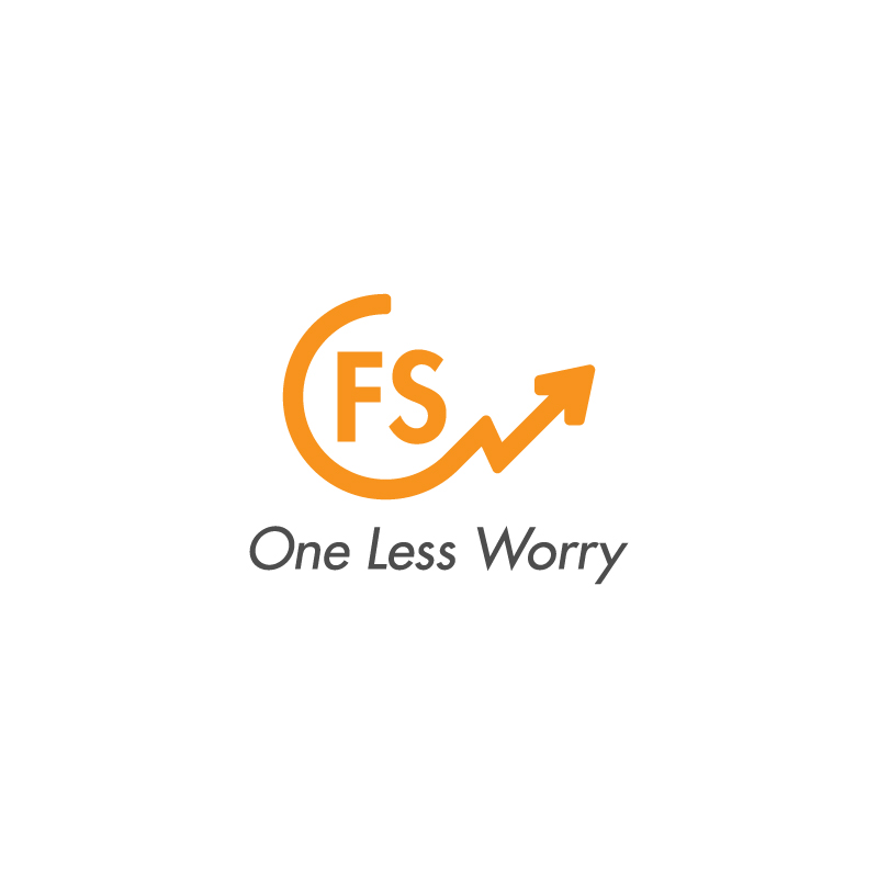Logo Design by Subhodeep Roy - Entry No. 3 in the Logo Design Contest Creative Logo Design for FS - One Less Worry.