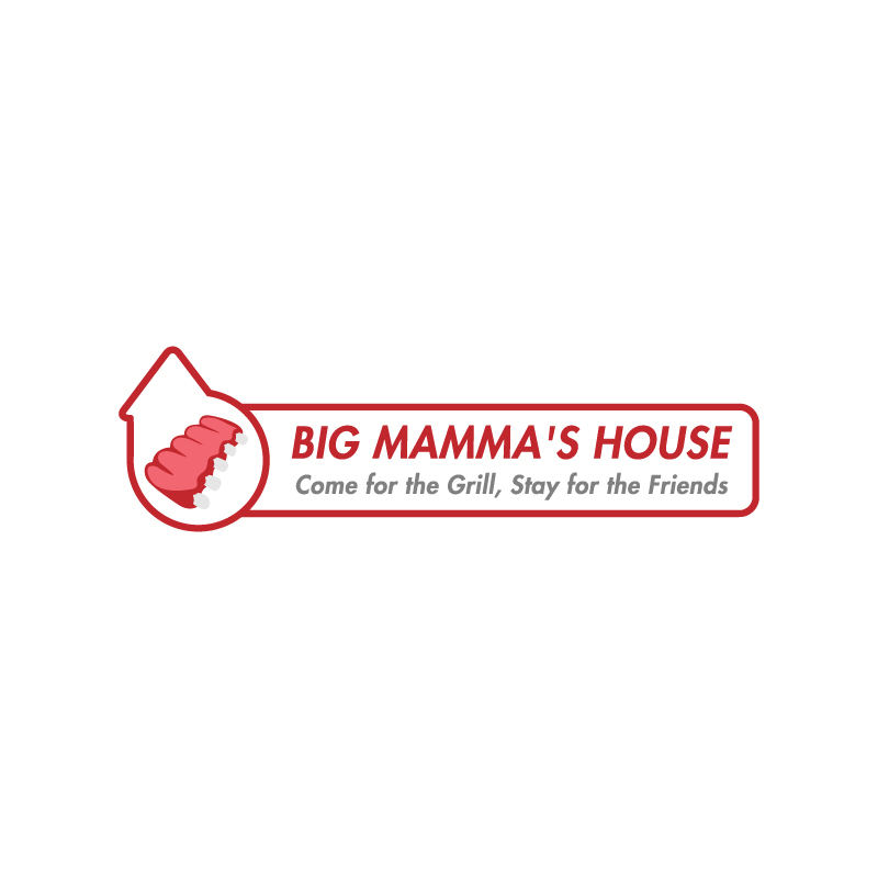 Logo Design by Subhodeep Roy - Entry No. 14 in the Logo Design Contest Captivating Logo Design for Big Mamma's House.
