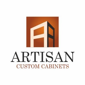 Creative logo design for artisan custom cabinets for Kitchen decoration logo