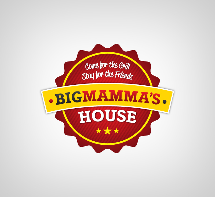 Logo Design by Dimitris Koletsis - Entry No. 18 in the Logo Design Contest Captivating Logo Design for Big Mamma's House.