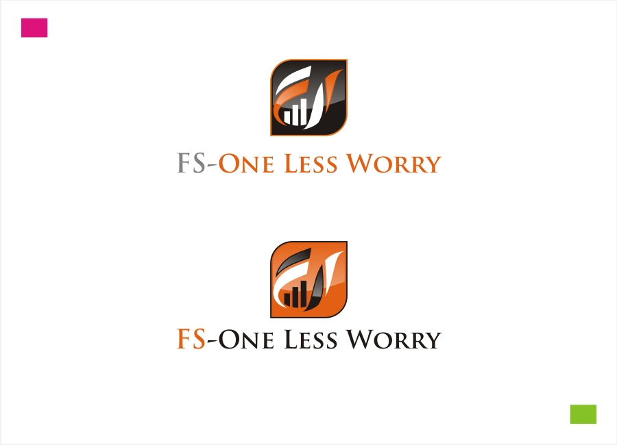 Logo Design by Private User - Entry No. 6 in the Logo Design Contest Creative Logo Design for FS - One Less Worry.