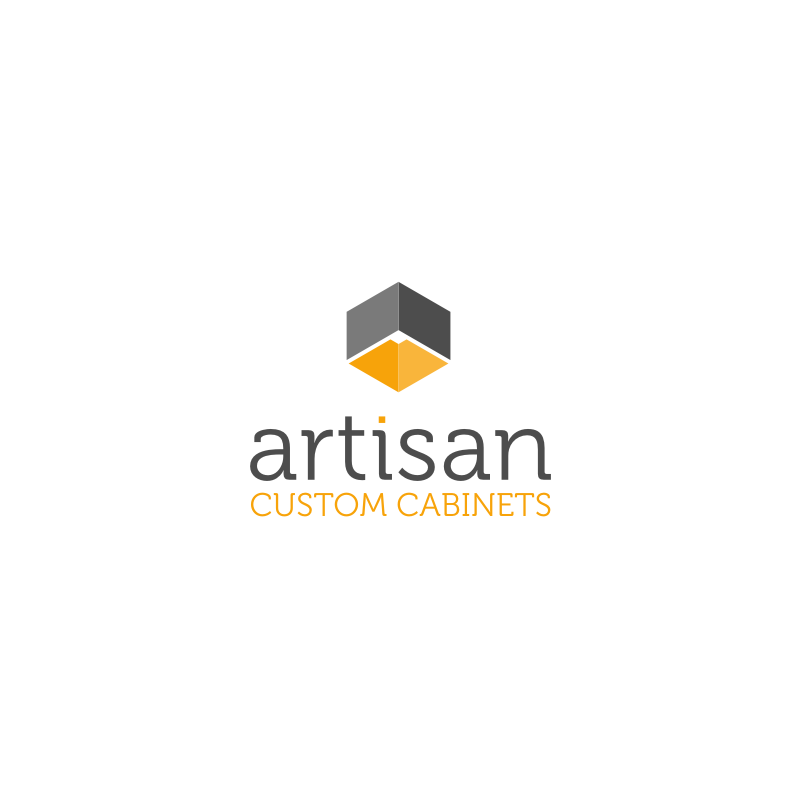 Logo Design by hkdesign - Entry No. 67 in the Logo Design Contest Creative Logo Design for Artisan Custom Cabinets.