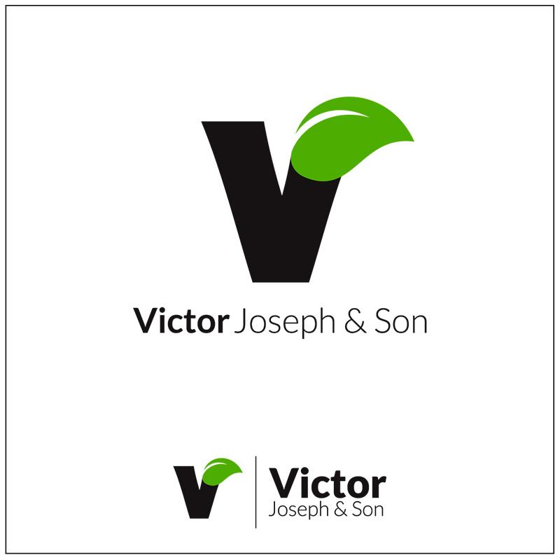 Logo Design by Adrian Chambre - Entry No. 36 in the Logo Design Contest Imaginative Logo Design for Victor Joseph & Son, Inc..