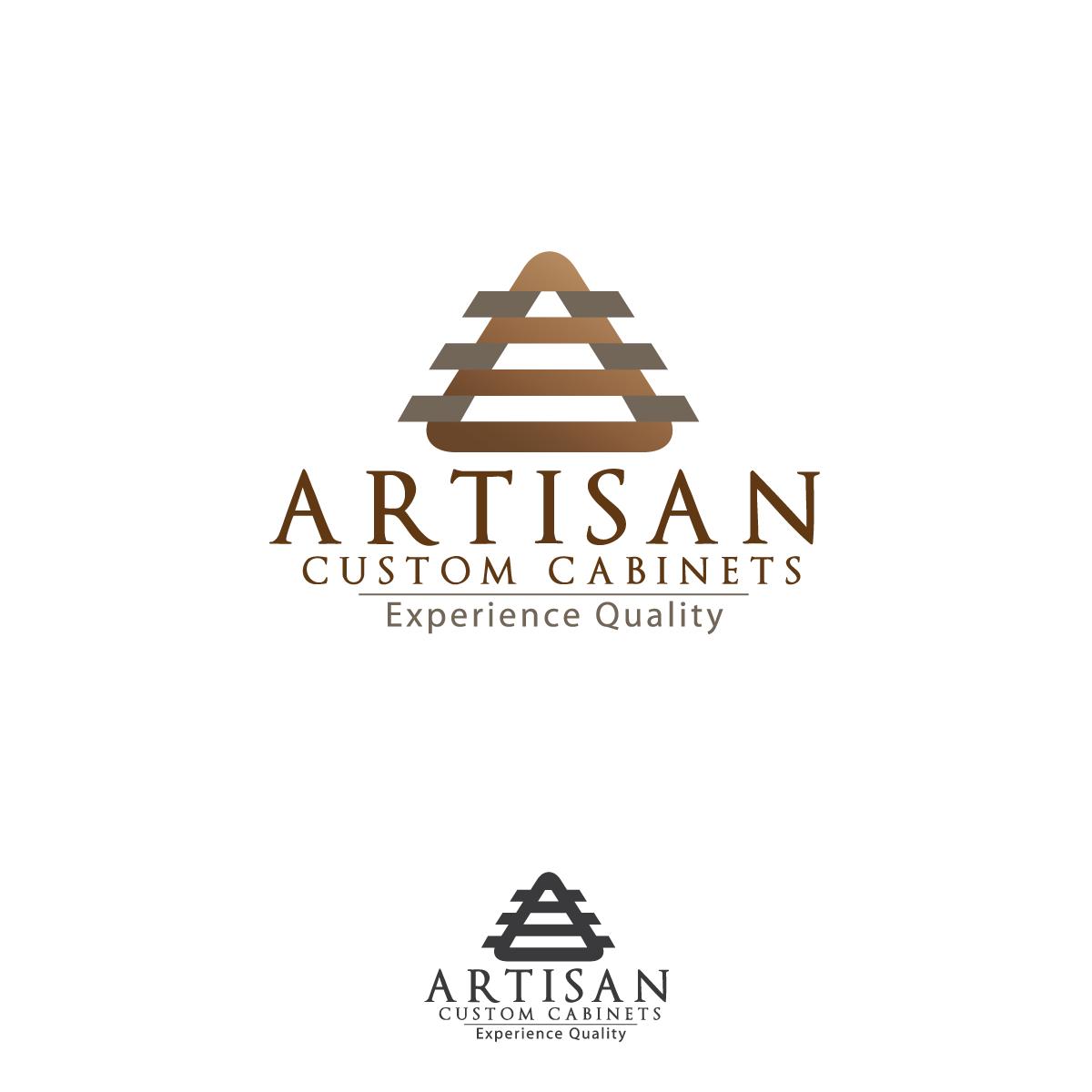 Logo Design by rockin - Entry No. 69 in the Logo Design Contest Creative Logo Design for Artisan Custom Cabinets.