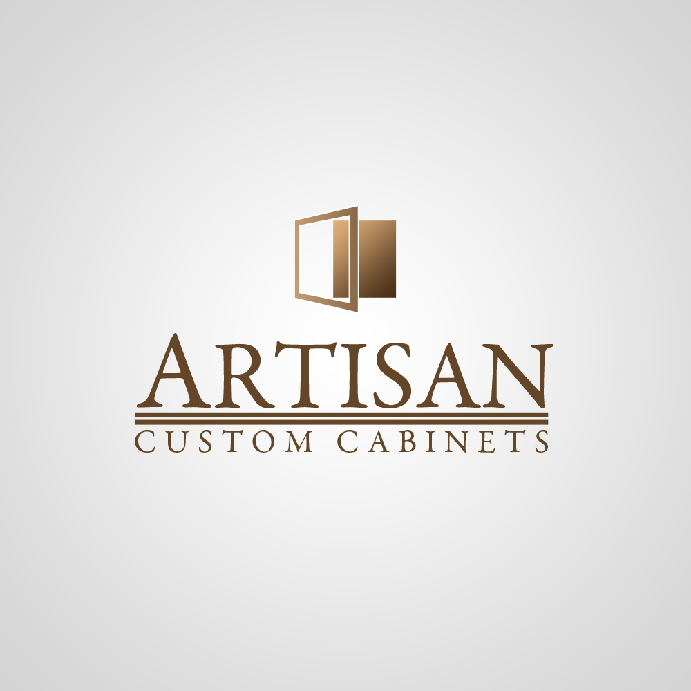 Logo Design by omARTist - Entry No. 70 in the Logo Design Contest Creative Logo Design for Artisan Custom Cabinets.