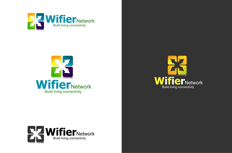 Logo Design by Private User - Entry No. 95 in the Logo Design Contest New Logo Design for Wifier Network.