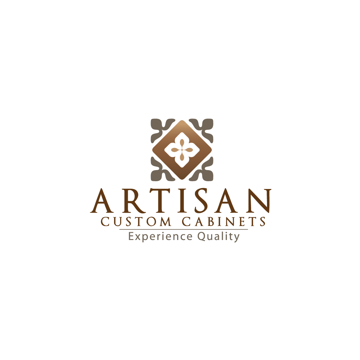 Logo Design by rockin - Entry No. 72 in the Logo Design Contest Creative Logo Design for Artisan Custom Cabinets.