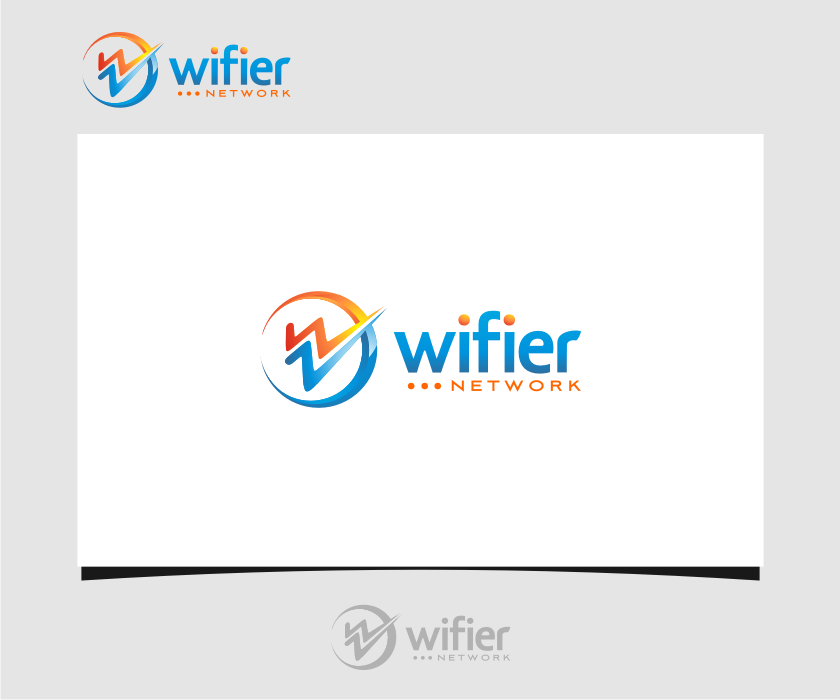 Logo Design by graphicleaf - Entry No. 98 in the Logo Design Contest New Logo Design for Wifier Network.
