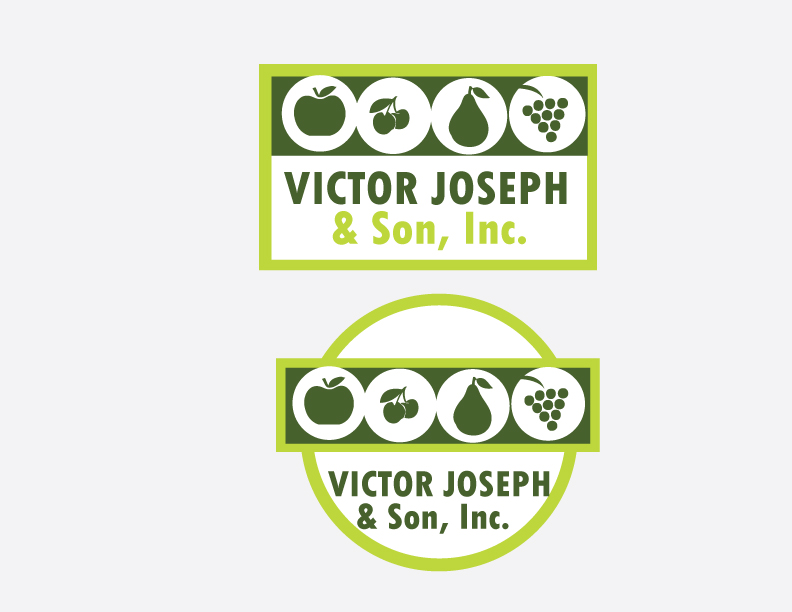 Logo Design by Private User - Entry No. 40 in the Logo Design Contest Imaginative Logo Design for Victor Joseph & Son, Inc..
